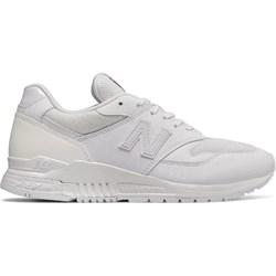 d5662763b10e2a Buty sportowe damskie New Balance w stylu casual białe