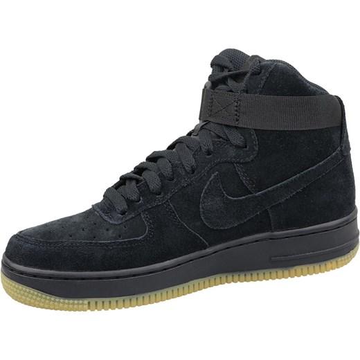 Trampki damskie Nike air force bez wzorów płaskie sznurowane