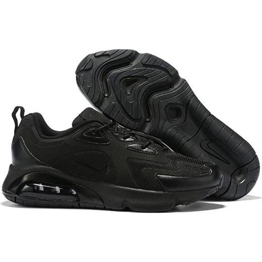 szyk Nike Air Max 270 React Triple Black   Pełne czarne