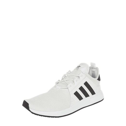 Buty sportowe męskie Adidas Originals x_plr z tkaniny na wiosnę białe sznurowane