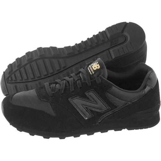 wielka wyprzedaż bliżej na zakupy Czarne buty sportowe damskie New Balance do biegania płaskie sznurowane bez  wzorów