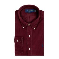 fc3f5ce7 Polo Ralph Lauren koszula męska z kołnierzykiem button down z długim  rękawem bez wzorów