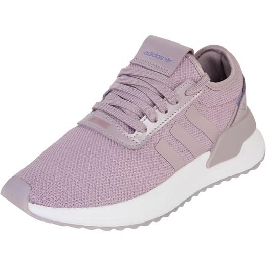 Buty sportowe damskie Adidas Originals w stylu młodzieżowym płaskie bez wzorów wiosenne sznurowane