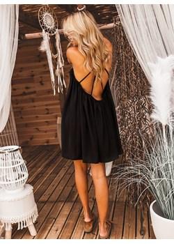 Sukienka LAVITA - czarna Selfieroom  Selfieroom.pl - kod rabatowy