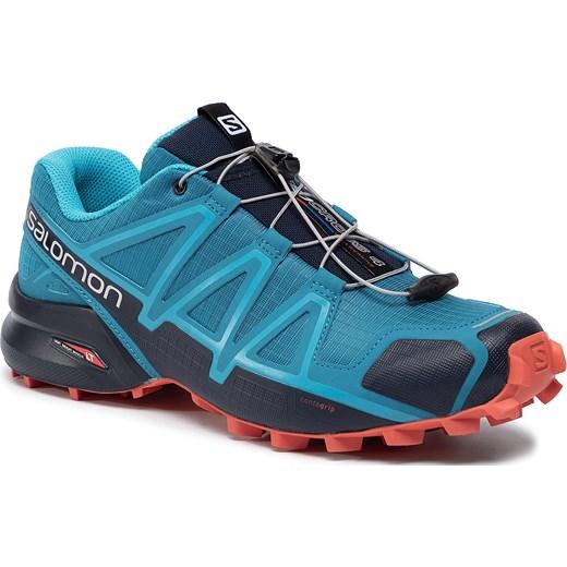 Buty sportowe męskie Salomon niebieskie