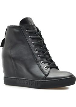 Carinii Sneakersy B5140-E50 Czarny lico Carinii  Arturo-obuwie wyprzedaż  - kod rabatowy