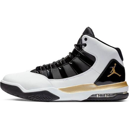 Wielokolorowe buty sportowe męskie Jordan nike air sznurowane skórzane