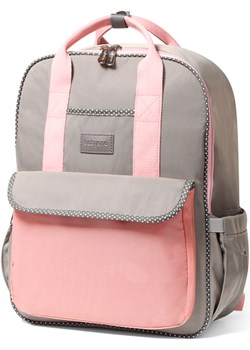 Plecak dla mamy - torba do wózka LONDON LOOK BabyOno róż  Baby Ono czasnabobasa.pl - kod rabatowy