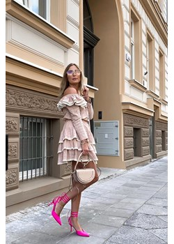 Sukienka Lori II beż Livi  Stardust Butik  - kod rabatowy