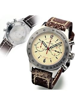 MARINE CHRONOGRAPH - BEŻOWA steinhart-zegarki zielony elegancki - kod rabatowy