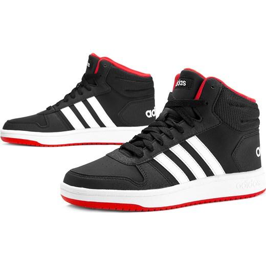 Buty sportowe damskie Adidas do koszykwki bez wzorw