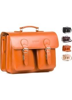 BIG torba 3w1 na laptopa Vintage P36 vooc-pl pomaranczowy duży - kod rabatowy
