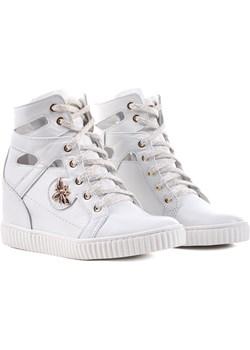 Sneakersy R.Polański 0854M Biały lico Biały 40  R. Polański Swiat Obuwia - kod rabatowy