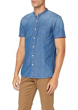 TOM TAILOR Denim męska koszula z krótkim rękawem -  krój regularny xl   okazja Amazon  - kod rabatowy