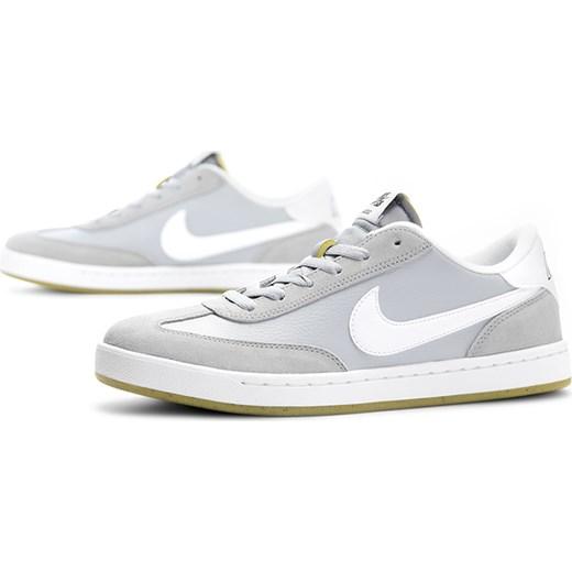 Szare trampki męskie Nike sb sznurowane sportowe