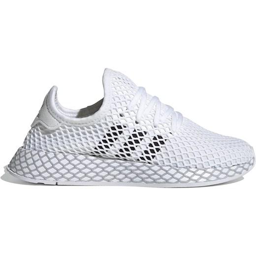 Buty sportowe damskie Adidas dla biegaczy białe bez wzorów