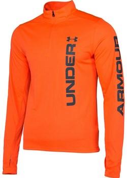 Bluza męska Speed Stride Split 1/4 Zip Under Armour (orange) Under Armour  promocyjna cena SPORT-SHOP.pl  - kod rabatowy