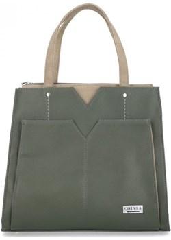 Torebka damska Chiara Design Eliga zielona oliwkowa  Chiara Design etorebki.eu - kod rabatowy