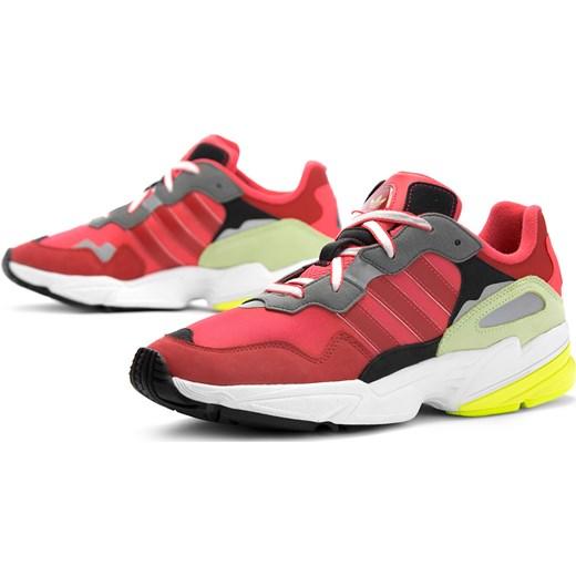sprzedaż obuwia złapać wyglądają dobrze wyprzedaż buty Buty sportowe męskie Adidas czerwone młodzieżowe sznurowane