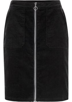 Spódnica sztruksowa z naszywanymi kieszeniami  Bonprix  - kod rabatowy