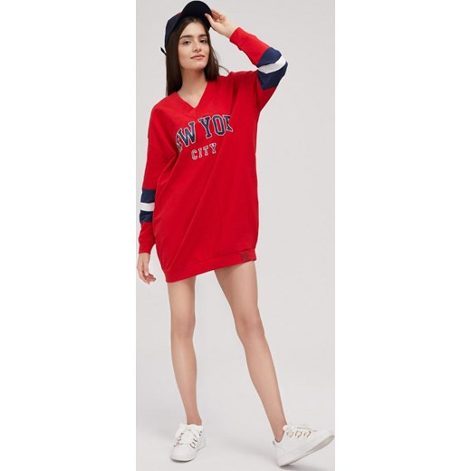 bluza czerwona diverse