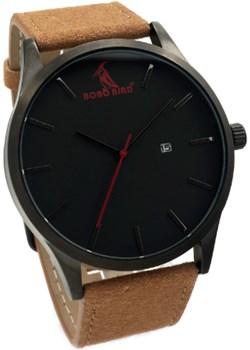 Zegarek męski BOBO BIRD na brązowym pasku Bobo Bird  okazyjna cena niwatch.pl  - kod rabatowy