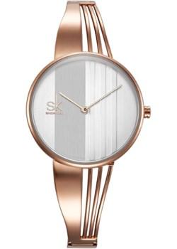 Zegarek SK03 na bransolecie rose gold  Shengke niwatch.pl okazja  - kod rabatowy