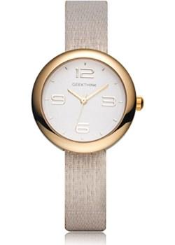Elegancki zegarek damski GeekThink - złoty  Geekthink okazyjna cena niwatch.pl  - kod rabatowy