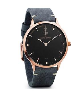 Zegarek KING HOON na pasku - czarno-złota tarcza King Hoon  wyprzedaż niwatch.pl  - kod rabatowy