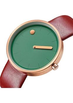 Designerski zegarek GeekThink zielono-bordowy  Geekthink wyprzedaż niwatch.pl  - kod rabatowy