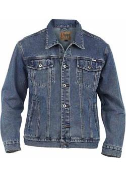 Duu017ce rozmiary Kurtka jeansowa Duke TRUCKER niebieska (2XL) Duke Of London  8xl - kod rabatowy