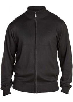 Duu017ce rozmiary Sweter rozpinany Milburn D555 czarny (2XL)  Duke Of London 8xl - kod rabatowy