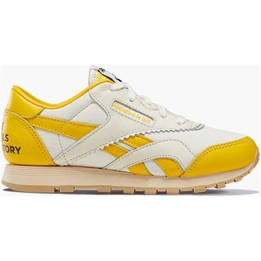 Buty sportowe damskie Reebok Classic nylon sznurowane gładkie płaskie