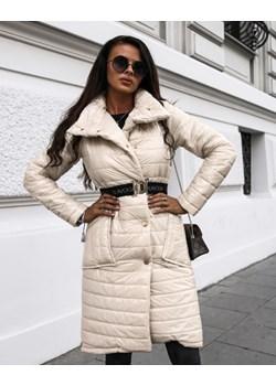 PŁASZCZ CARLA BEŻ   Yasmin Boutique wyprzedaż  - kod rabatowy