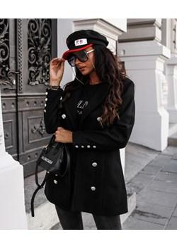 PŁASZCZ UNIQUE BLACK   Yasmin Boutique - kod rabatowy