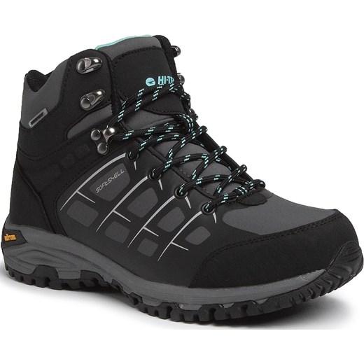 najlepsze buty najlepszy wybór Najnowsza Śniegowce damskie czarne Hi-Tec bez wzorów casual