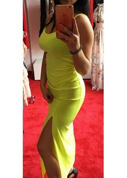 Długa neonowa sukienka  O La Voga wyprzedaż Avenue M  - kod rabatowy