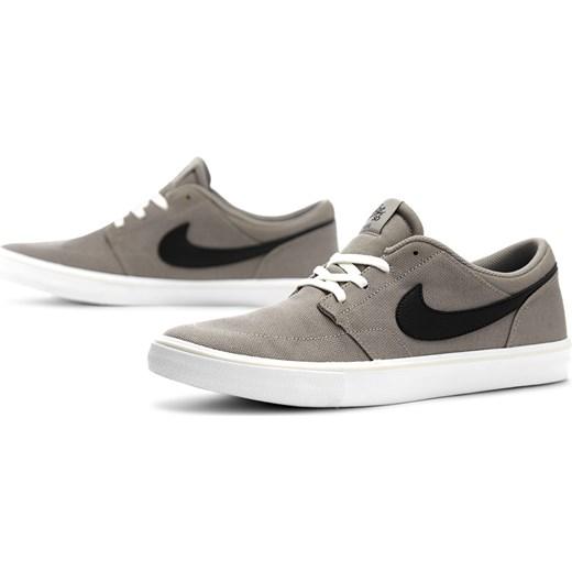 Trampki męskie Nike sb zamszowe brązowe sportowe