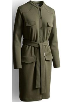 NEW YORK TIMES DRESS wojskowa zieleń - uszyta w Rykach  Risk Made In Warsaw  - kod rabatowy