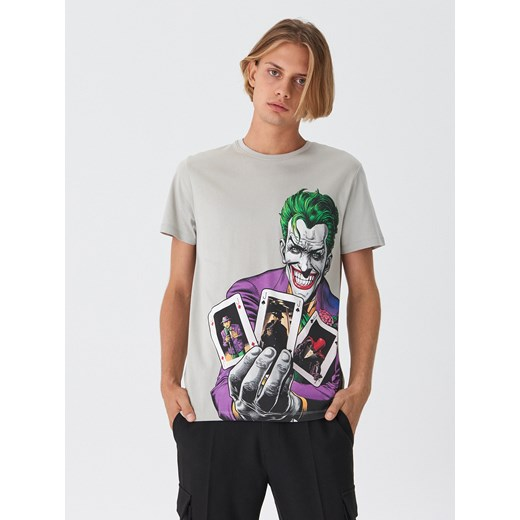 House - T-shirt Batman - Jasny szary House  L
