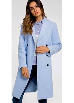 Płaszcz pastelowy błękit, wiosenny  Estera DAFNIS - kod rabatowy