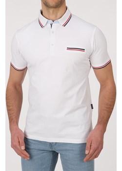 Koszulka polo - biała  Lanieri Lanieri.pl - kod rabatowy