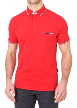 Koszulka polo - czerwona Lanieri  Lanieri.pl - kod rabatowy