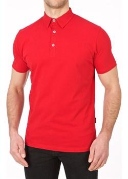Koszulka polo czerwona  Lanieri Lanieri.pl - kod rabatowy