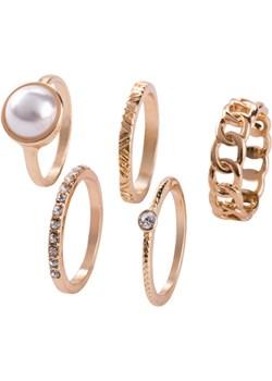 Komplet pierścionków (5 części) Bonprix   - kod rabatowy