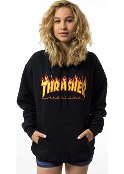 Bluza damska Thrasher hoody WMNS Flame Logo black N  Thrasher matshop.pl - kod rabatowy