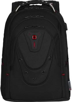 "Plecak na laptopa do 17"" Wenger Ibex Ballistic Deluxe czarny Wenger  Delcaso - kod rabatowy"