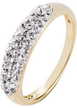 Pierścionek z kryształami Swarovskiego® Bonprix   - kod rabatowy