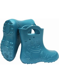ZETPOL kalosze dziecięce EVA Frog Metalic Blue Zetpol  okazyjna cena Zetpol Sklep  - kod rabatowy