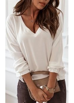 Śmietankowa bluzka na gumce Rose Boutique   - kod rabatowy